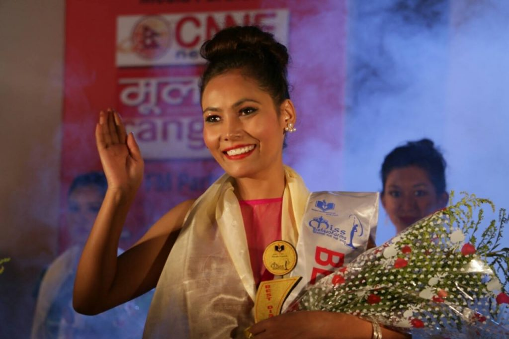 The first beauty contest for the lowest caste, the dolits, in Nepal