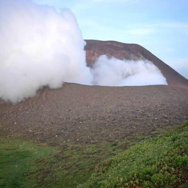 Breathtaking literally  twodayshike on the active volcano Telica Afterhellip