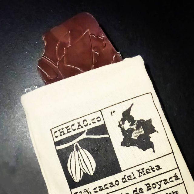Amaaaazing chocolate! Checao is Colombian chocolate made by a Czechhellip