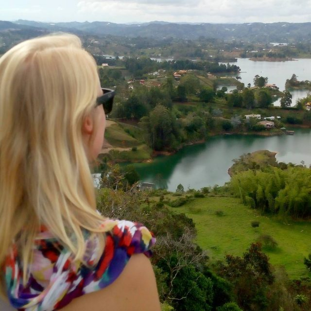 Beautiful trip to Guatap with my lovely Colombian friends fromhellip