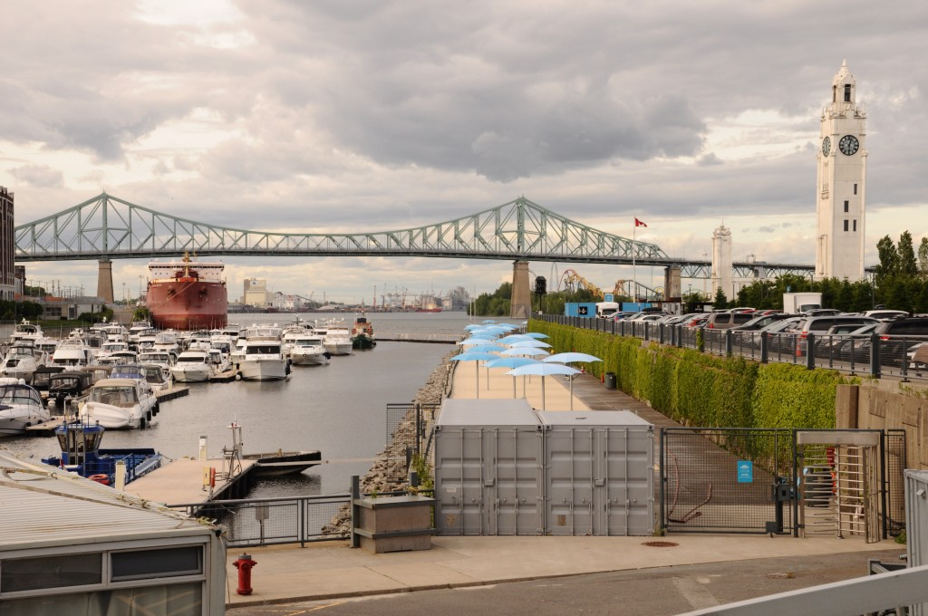 Harbour in Montreal