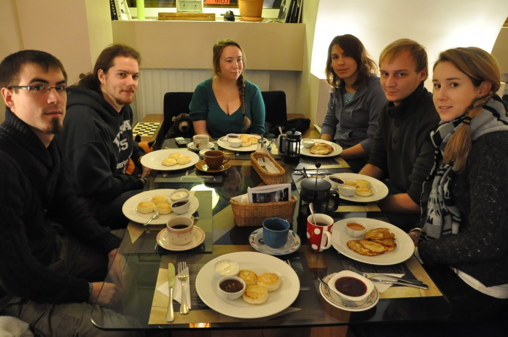 Russian breakfast at Café Zoom