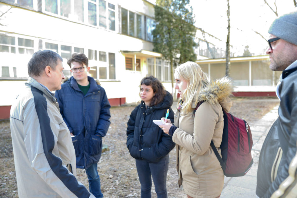 Journalists group in Belarus