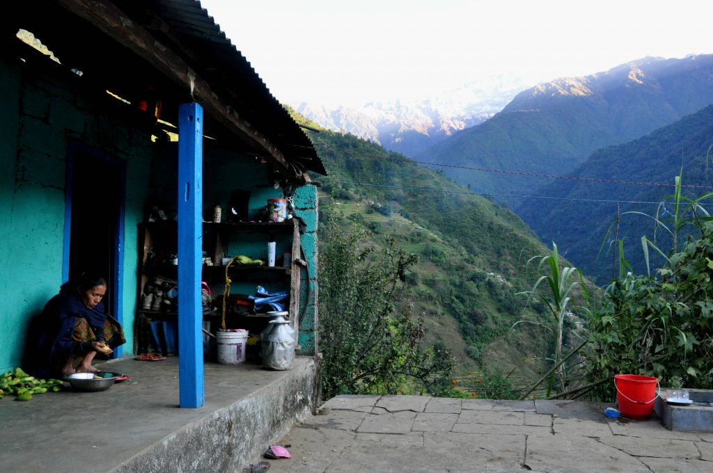 Homestay in Sidding in Nepal on Mardi Himal Trek in Nepal