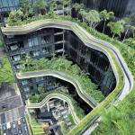 Artikel über die Dachgärten in Singapur